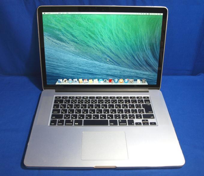 MacBook Pro Retinaディスプレイ 2300/15.4 ME294J/A