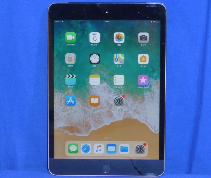 iPad mini 3 Wi-Fi+Cellular 64GB SoftBank [スペースグレイ]