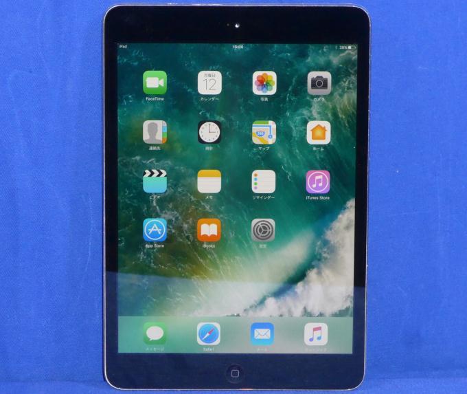 iPad mini 2 Wi-Fiモデル 16GB ME276J/A [スペースグレイ]