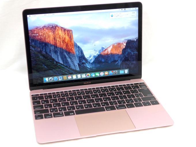 MacBook 1100/12 MMGL2J/A [ローズゴールド]